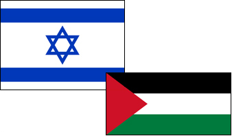 israel-palestine flag